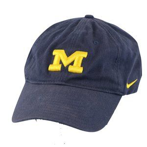 Vintage Nike University of Michigan Spell Out Hat